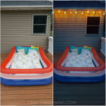 Lay Under the Stars in a Kiddie Pool