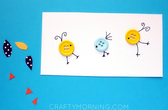 button-bird-kids-craft