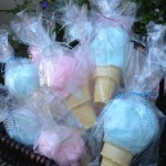 Cotton Candy Cones (Party Favors)