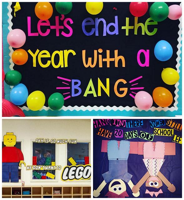 End of the Year Classroom Bulletin Board Ideas - Crafty ...