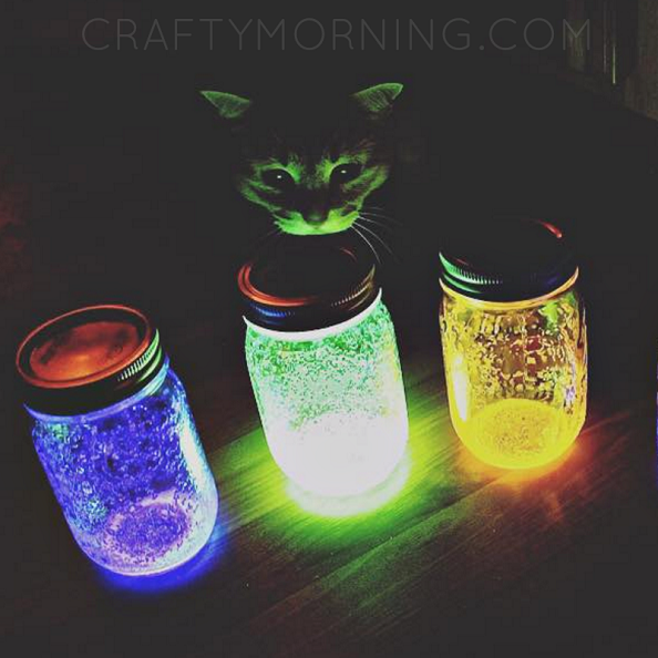glow-stick-jars-craft-summer