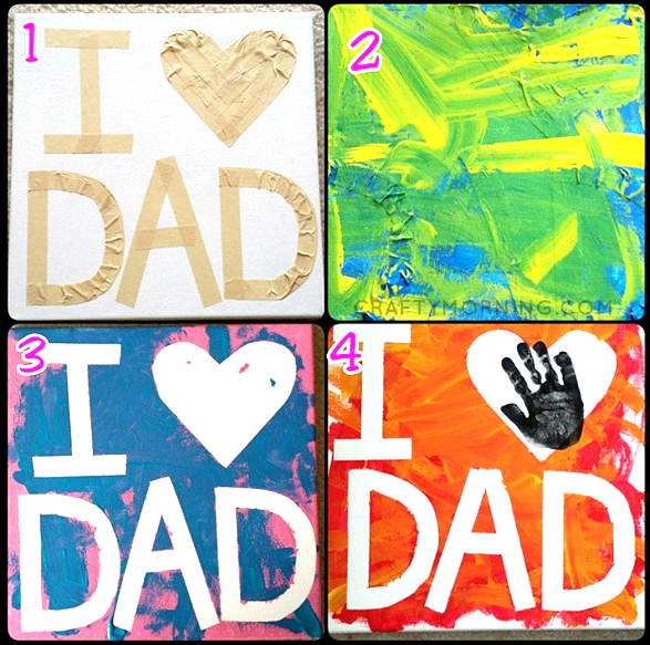 tape-resist-dad-fathers-day-craft