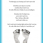 """Walk a Little Slower, Daddy"" Printable Poem"