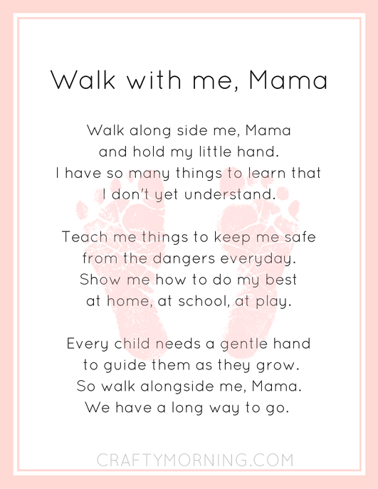 walk-with-me-mama-poem-printable