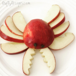 Apple Crab Snacks for Kids