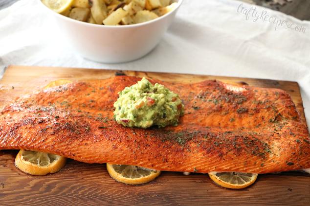 Cedar Plank Lemon Salmon Recipe