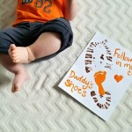 Following in My Daddy's Shoes (Father's Day Craft)