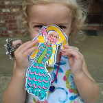 Handprint/Footprint Mermaid Kids Craft