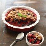 Peach Berry Crisp Recipe