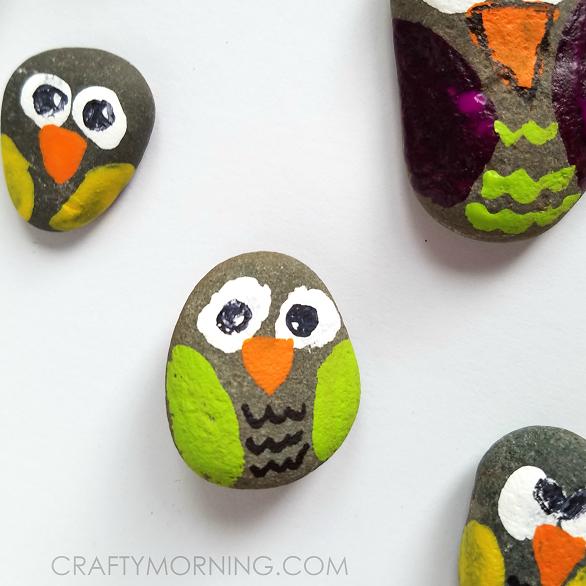 rock-owls-kids-craft
