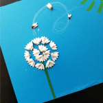 Bow-Tie Noodle Dandelions (Kids Craft)