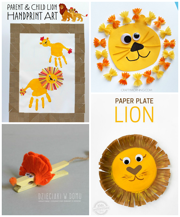 cute-lion-crafts-for-kids