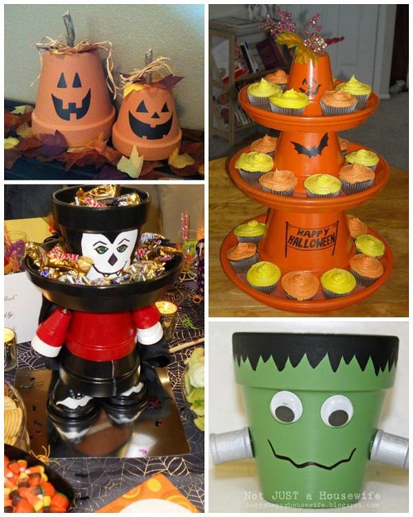 flower-pot-halloween-craft-ideas
