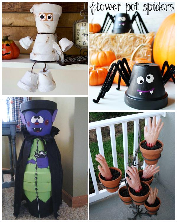 flower-pot-halloween-crafts