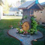 Decorated Tree Stump Ideas