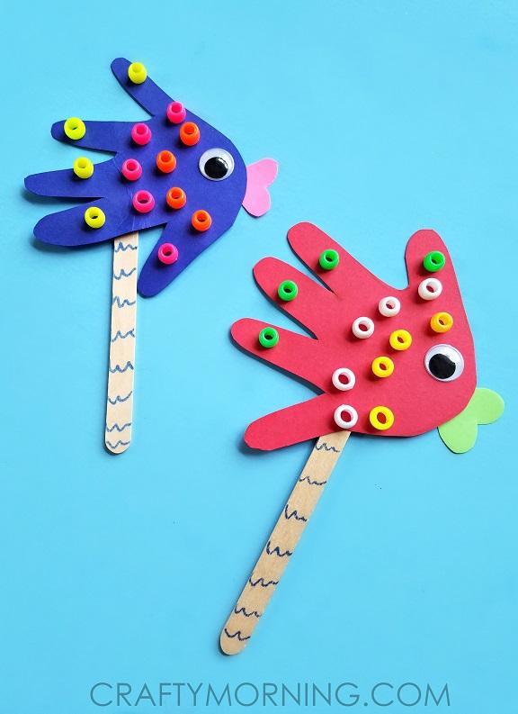 handprint-fish-puppets-kids-craft