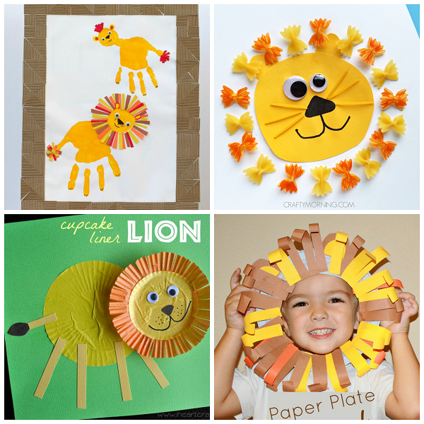 Lion Crafts For Kids To Make Crafty Morning