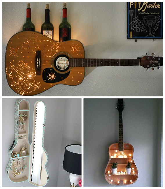 Amazing Ways To Upcycle A Guitar