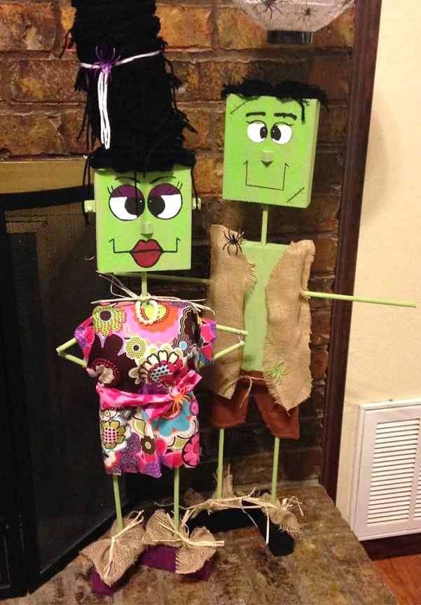 wood-block-frankenstein-halloween-crafts
