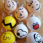 Charlie Brown Gang Christmas Ornaments
