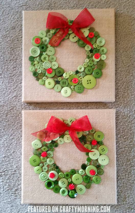 button-christmas-wreath-kids-crafts