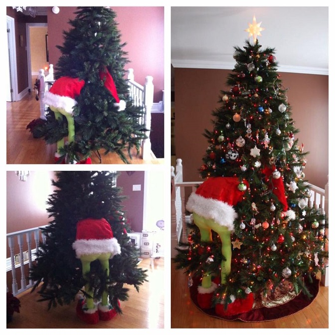 How To Make A Grinch Christmas Tree Crafty Morning