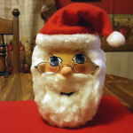 Mason Jar Santa Claus Craft