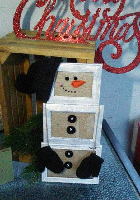 picture-frame-snowman-diy