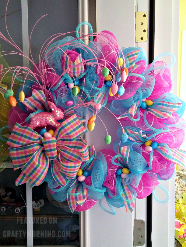 easter-deco-mesh-wreath