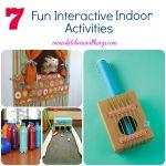 7 Fun Interactive Indoor Activities