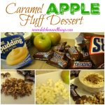 Caramel Apple Fluff Dessert