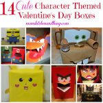 14 Cute Character Themed Valentine's Day Boxes!