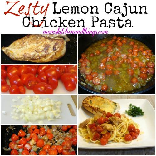 Zesty Lemon Cajun Chicken Pasta