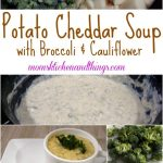 Potato Cheddar Soup with Broccoli & Cauliflower