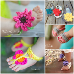Free Crochet Baby Sandals Patterns