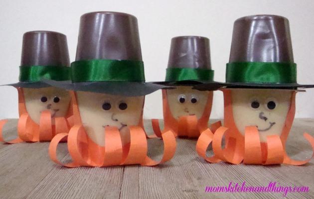 Leprechaun Pudding Cup Craft