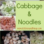 Cabbage & Noodles