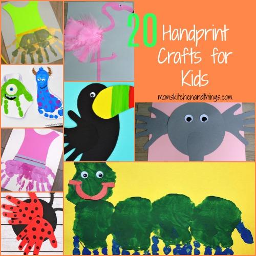 20 Handprint Crafts for Kids