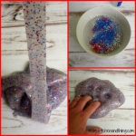 Red, White, & Blue Glitter Slime