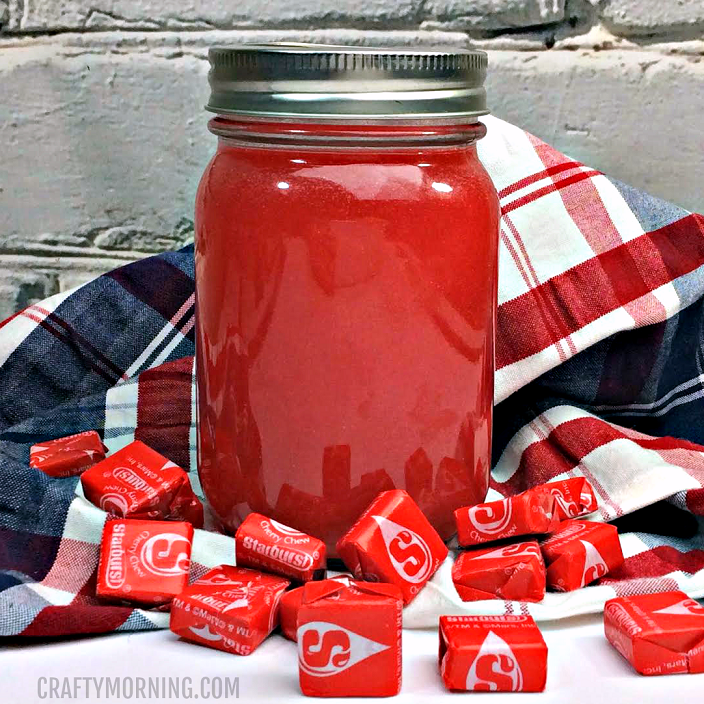 Red Starburst Moonshine Recipe - Crafty