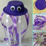 Jellyfish Bowl Craft for Kids