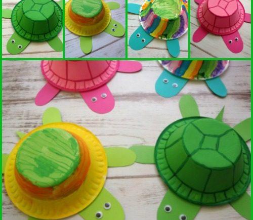 Styrofoam Bowl Turtles
