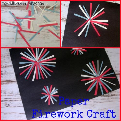 Paper Firework Craft