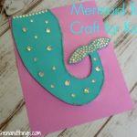 Mermaid Tail Craft for Kids