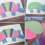 Rainbow Armadillo Craft for Kids