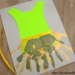 TinkerBell Fairy Dress Handprint Craft