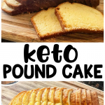 Keto Pound Cake Recipe
