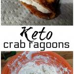 Keto Crab Ragoons