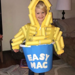 Toilet Paper Roll Easy Mac Costume