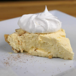 Egg Nog Pie Recipe